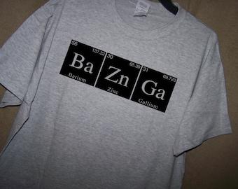 BAZINGA Science/Geek Shirt Big Bang Theory