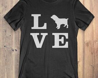 Boykin Spaniel Dog T-Shirt Gift: I Love Boykin Spaniel