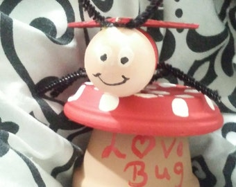 Ceramic Love Bug