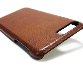 Huawei P20 P20 PRO P10 and P10 Plus Leather Case handmade in Italy Device and Colour to CHOOSE