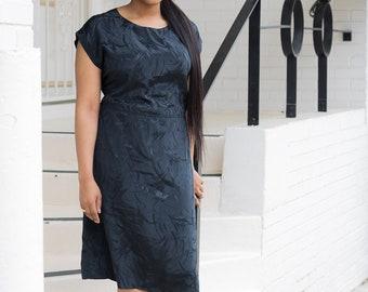 Black Vintage Plus Size Dress