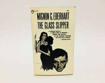 Vintage Mystery Book The Glass Slipper by Mignon G. Eberhart 1960s Paperback