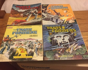 Transformers and GoBots Vintage Storybooks