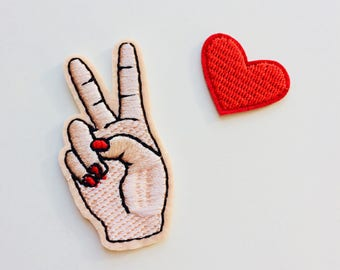 Sale | Peace | 90s | Kawaii | Patches | Patch | Hipster | Trendy | Emo | DIY | Fashion | Cute | Retro