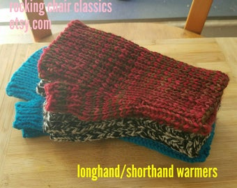 Longhand Shorthand Warmers