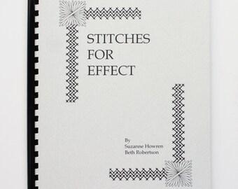 Stitches For Effect Spiral-Bound Book, Suzanne Howren Needlepoint Books, Needlepoint Stitches, Beth Robertson Stitch Books, Rare Needlework