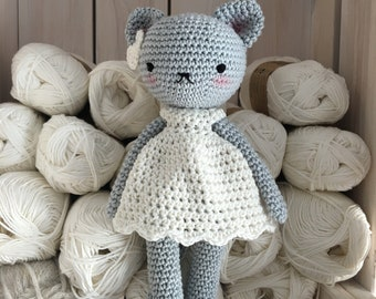 Amigurumi Cat Doll : Soft crochet toys dolls and plushies made with by unepelotedelaine
