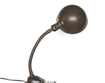Antique Gooseneck Desk Lamp by Uptown Vintage