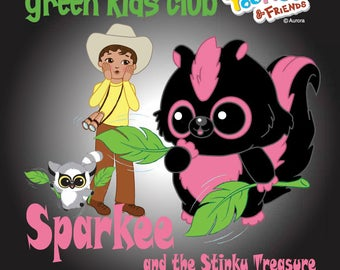 Sparkee and the Stinky Treasure