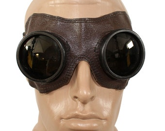 Old military Air Force Pilot Goggles