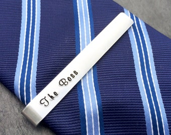 Personalised tie bar, tie clip, Father's Day gift, daddy, personalised tie clip, gift for him, groomsman gift, groom, wedding, gift for dad