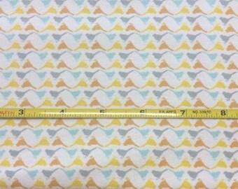 NEW Art Gallery Birdstencil AM on cotton Lycra  knit fabric 1 yard