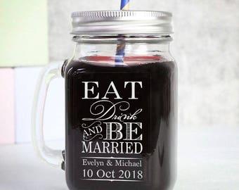 wedding jar labels