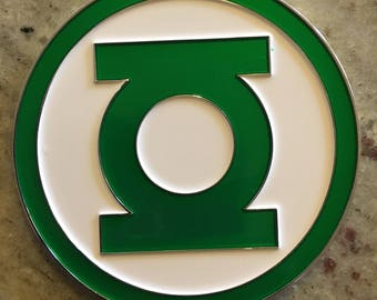 WILLPOWER Green Lantern Challenge Coins