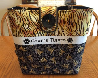 Cherry Minnesota Tigers Tote Bag