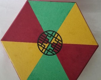 PSB-H01: Hexagon Old Treasure Case