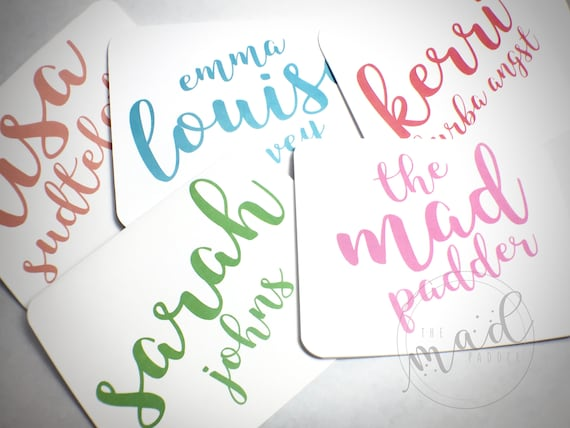 Marvelous Personalized Note Card Set