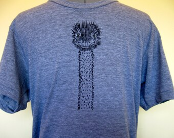 Emu Unisex Shirt Mens Shirt XS through XXL Athletic Grey