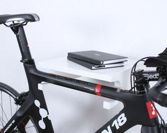 Berlin - Bike wall mount / bike holder / bike storage / White