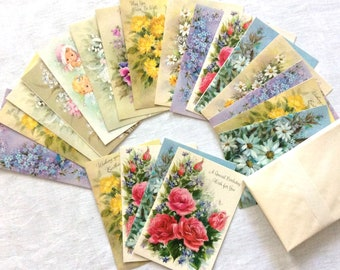 Greeting Cards All Occasion Assortment 20 Cards with Envelopes Original Box Vintage Greeting Cards