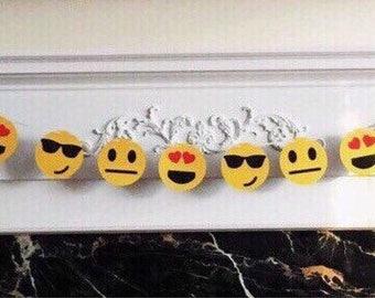 "6 Foot - Smiley Face Emoji Style #2 Banner -  3.5"" Emoji"