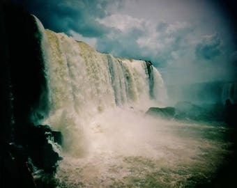 Foz de Iguazu Print, Iguazu Falls Print,  Iguazu Falls Photo, Waterfall Photo, Waterfall Print, Iguazu Falls Photography, Nature Print, Art