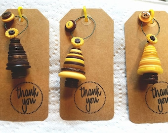 Sunflower wedding/ shower favors