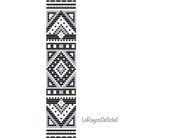 Seed Bead Loom Pattern 11 12 Two Color Palettes Baltic