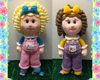 Gracie and Gabby  (PDF pattern only, this is not the finished doll)