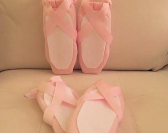 Ballerina shoe favor bag