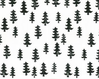 Crib Skirt Black Forest. Baby Bedding. Crib Bedding. Crib Skirt Boy. Baby Boy Nursery. Woodland Nursery. Black Crib Skirt. Tree Crib Skirt.