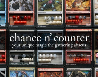 Premier Magic the Gathering MtG 3D Abacus Life Counter
