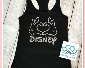 Mickey mouse hands LOVE, mommy and me, mickey shirt, silver Mickey mouse  Minnie me shirts, mommy and me shirts, Disney shirts, Minnie and