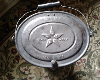 Rare Antique Space Heater Uses Coal Excellent Condition USF Co. 1888