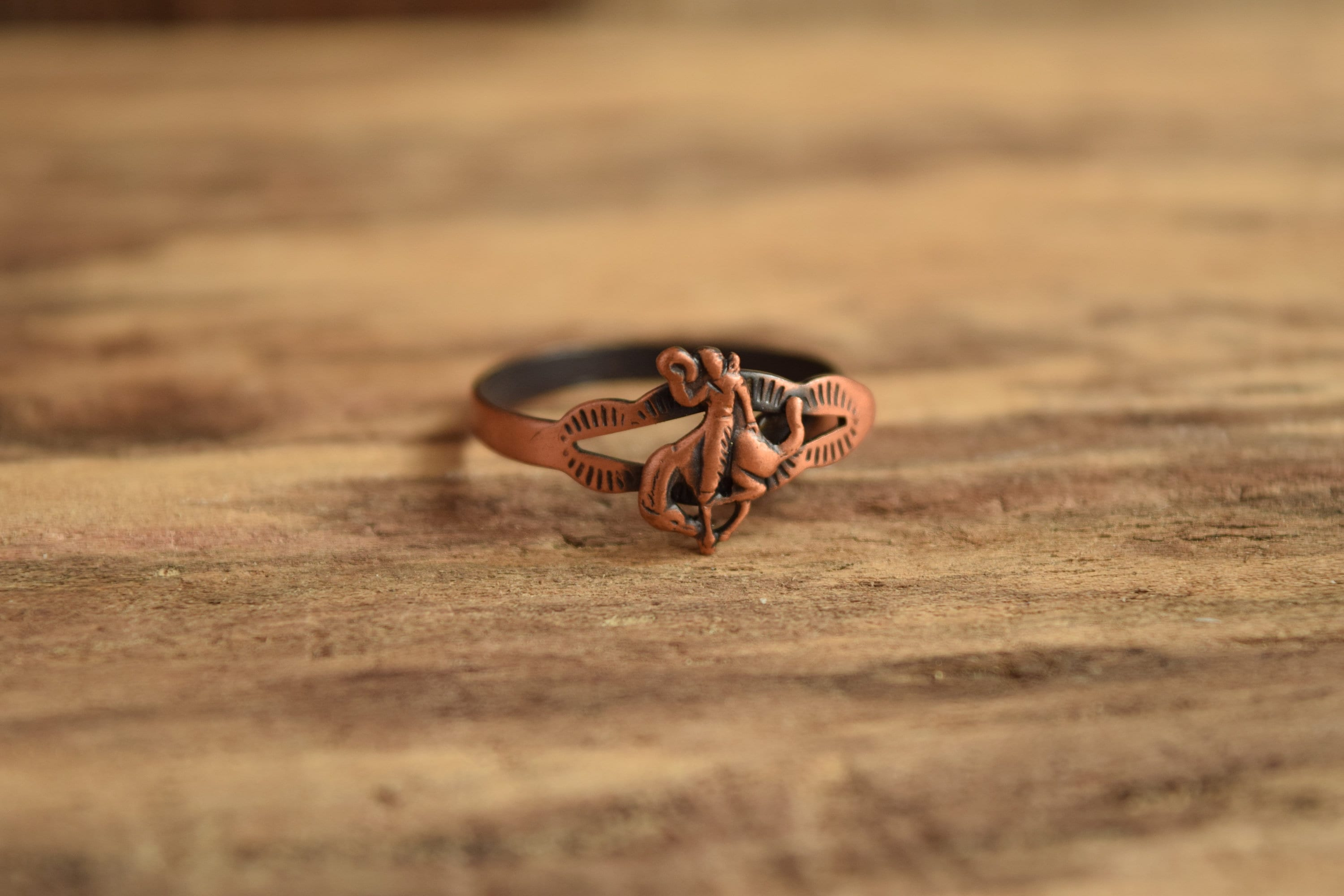 image ring collections sal copper coper miel rings forged