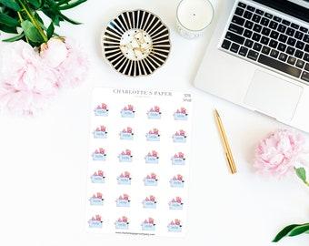 Lazy Day Planner Stickers / Planner Stickers / Erin Condren / Happy Planner /Traveler's Notebook / Agenda / Flamingo Stickers / SD16