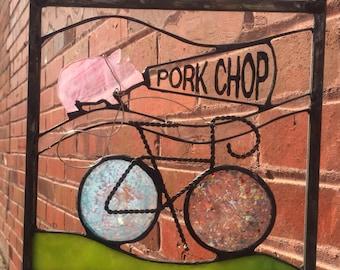 Riding Iowa with Mr. Porkchop