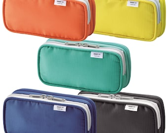Lihit Lab. Double Pen Case S Size 5 Colors A7660 175mm × 45mm × 85mm from Japan Gift New Free Shipping,with tracking number