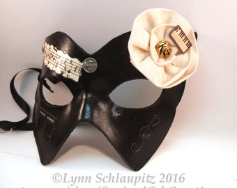 Steampunk mask, Leather, Black mask,  cosplay,  rave,  theatre, masked ball, masquerade, larp, mardi gras,  Fantasy mask