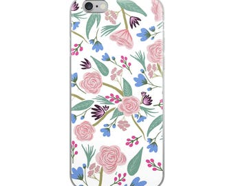 Haddie Floral Print iPhone Case