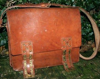 Vintage Courier Bag Post bag 1952/Vintage messenger bag 50th