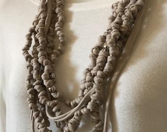 Neck Strap and bracelet