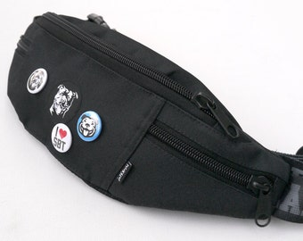 Fanny Pack Staffie Staffy Staffordshire Bull Terrier Dog Walking Hip Bag Staffie Bum Bag Bully Team SBT