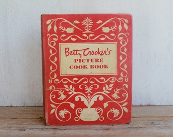 Vintage Betty Crocker's Picture Cook Book 1950