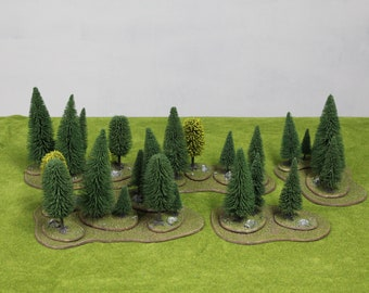 Forest Trees & Flats Terrain Set