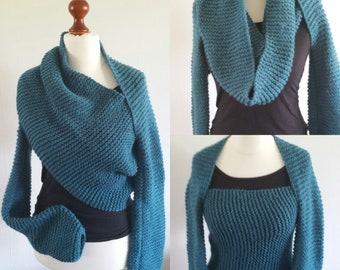 Long sleeves bolero scarf scarf neck warmer-gift for women fashion mom Under100