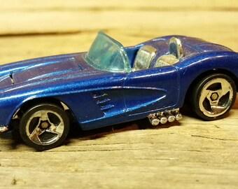 58 Corvette coupe convertible Hot Wheels 1996 opening hood