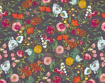 Budquette Nightfall - Emmy Grace - HALF YARD - Art Gallery Fabric - Cotton Fabric - Quilting Fabric
