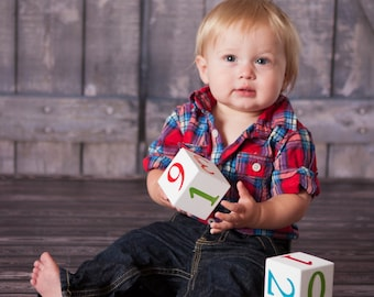 Additional Number Block- Higher Combinations Baby Age Blocks