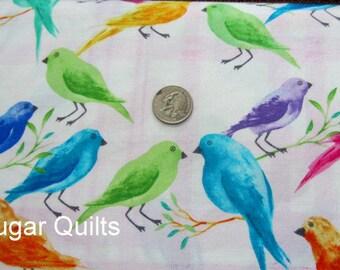 Timeless Treasures, Daydream, Birds, Alice Kennedy, Bright Colored Birds